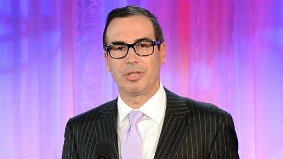 Steven Mnuchin es un potencial candidato al cargo de secretario del Tesoro. Foto: AFP.