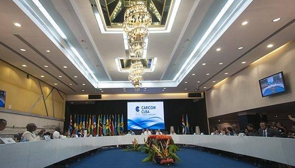 Concluye V Reunión de Ministros de Relaciones Exteriores CARICOM-Cuba reconociendo la necesidad de enfrentar unidos los desafíos para construir sociedades más justas y equitativas. Foto: Ladyrene Pérez/ Cubadebate.