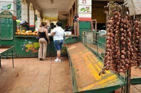 Mercado agropecuario cubano