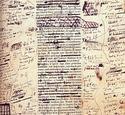 Manuscrito de Honoré de Balzac