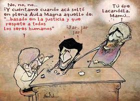 Caricaturas de Garrincha, Mahmud
