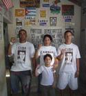 Yoan David González Milanés y su familia