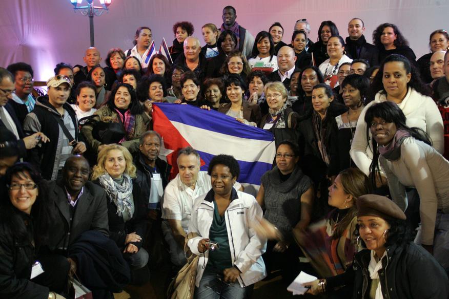 VI Encuentro de Cubanos Residentes en Europa. Foto Virgilio Ponce