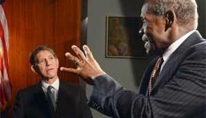 Danny Glover y Peter Coyote, en nuevo video por los cinco cubanos presos en EEUU