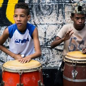 Percussion in Havana