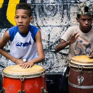 Percussion in Havana
