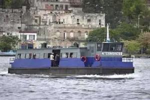 Ferry similar al secuestrado en La Bahía de La Habana, en 2003