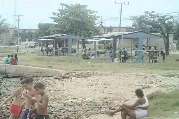 Playa en el Mariel