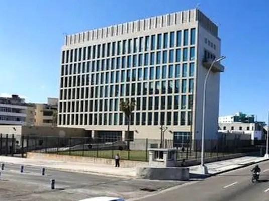 Resultado de imagen para embajada de eeuu en cuba