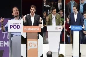 candidatos España elecciones