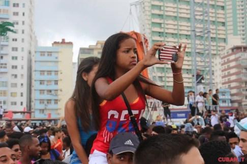 Concierto de Major Lazer en La Habana (Foto archivo)