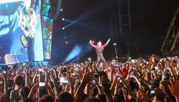 Mick Jagger en el escenario (Foto: Manuel Díaz Mons)