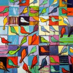 Bird Talk /  by Herson - Israeli Artist