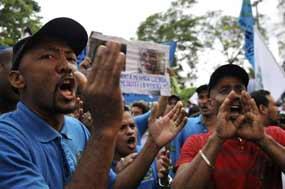 "Panamanian Teachers Respond To Martinelli""s Threat With Strike"
