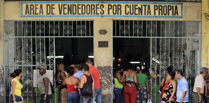 Cuba; Trabajo por cuenta propia;