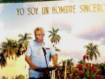 El Dr. en Ciencias Históricas Pedro Pablo Rodríguez (Foto: Yoandry Avila Guerra)