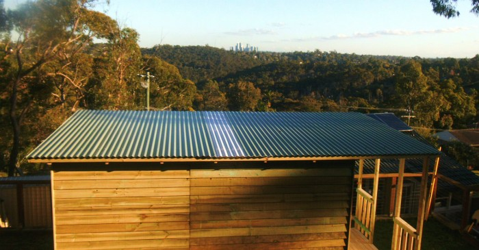 cabin roofing