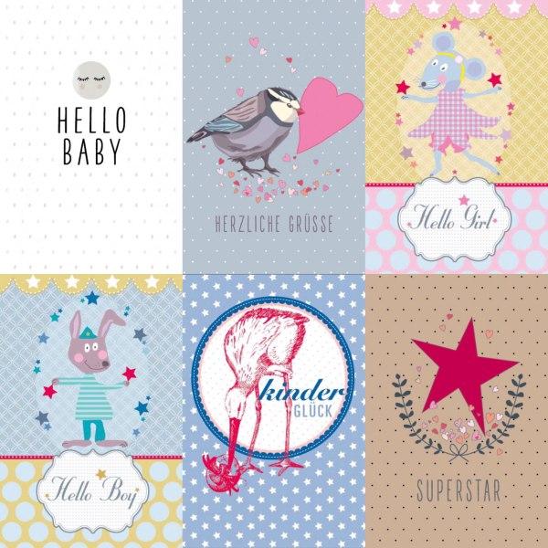 cuBe-box Babygeschenke geburtskarten