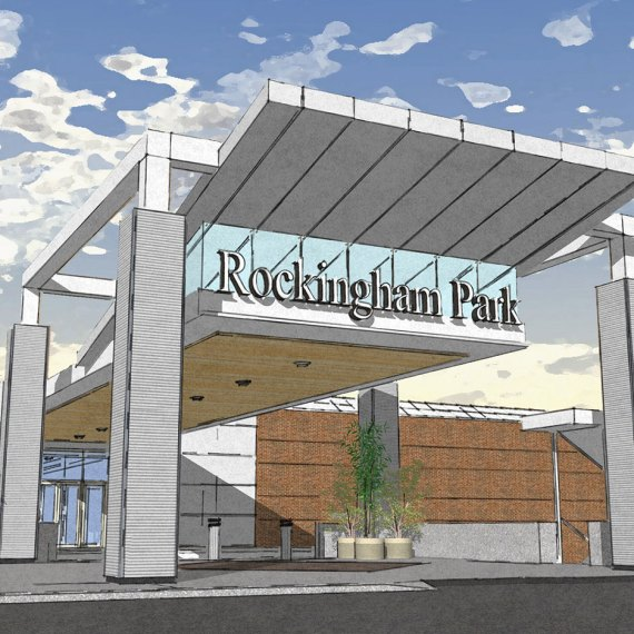 The Mall at Rockingham Park Main Entrance Rendering in Salem NH