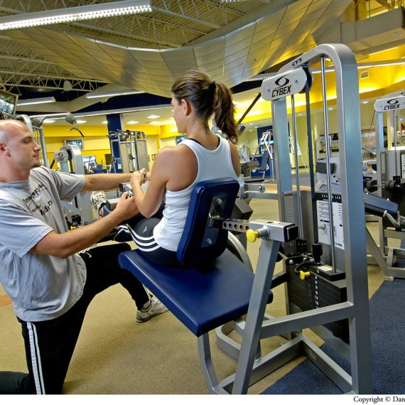 Answer is Fitness weight and training area in North Attleborough MA