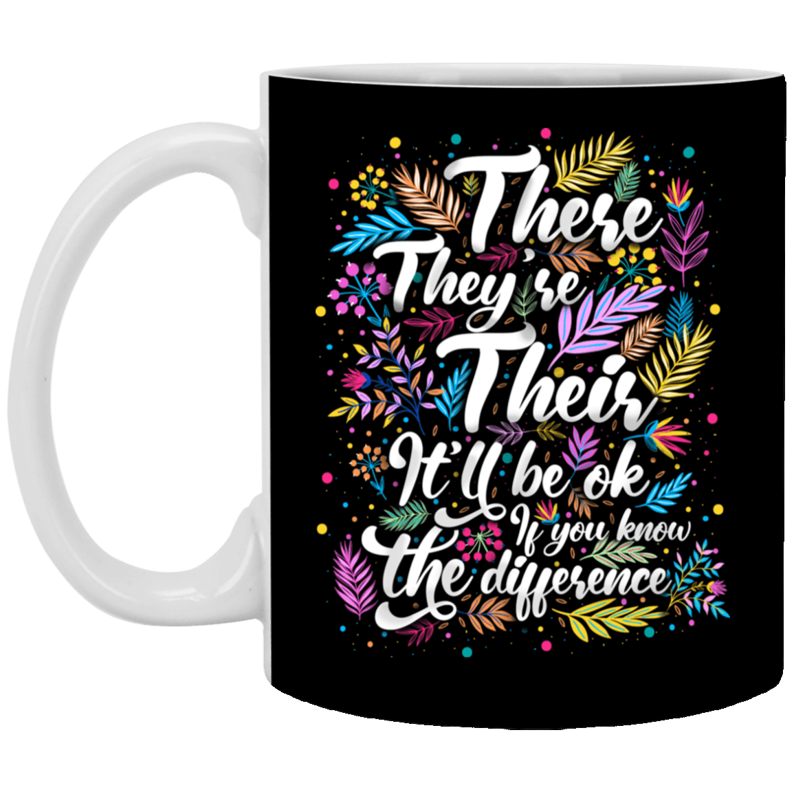 Funny Grammar Mugs