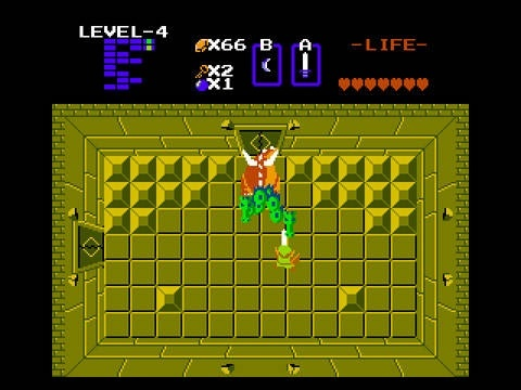 The Legend Of Zelda NES Screens And Art Gallery Cubed3