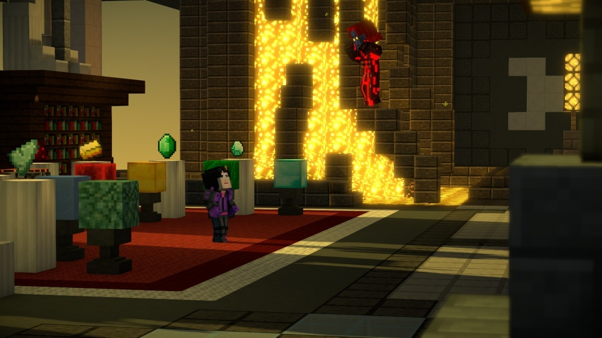 Minecraft Story Mode Season Two Episode 5 Above And