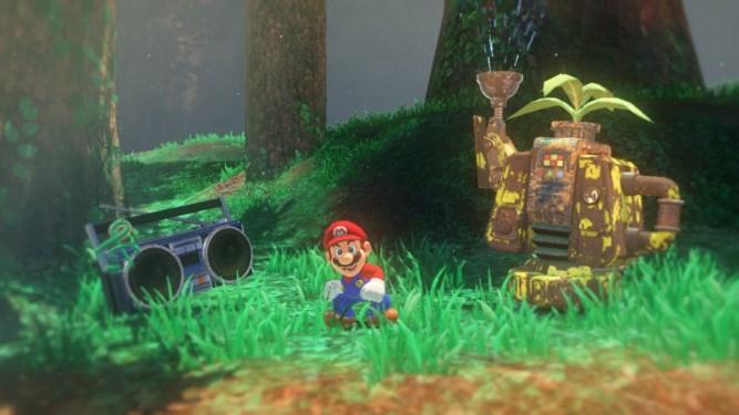 Resultado de imagen de Super Mario Odyssey