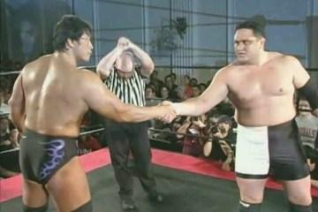 Samoa Joe vs. Kenta Kobashi