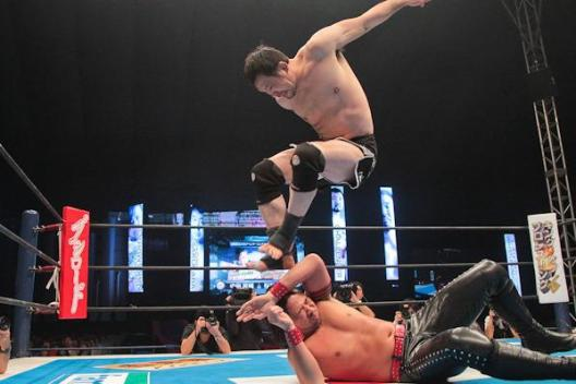 Shinsuke Nakamura Kazushi Sakuraba WK7 Stomp