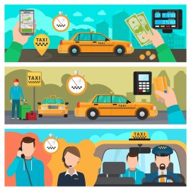 E-hailing services solution
