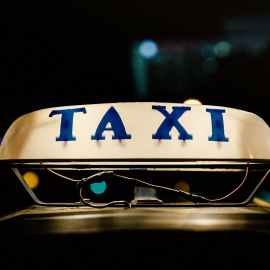 Taxi booking app the UK