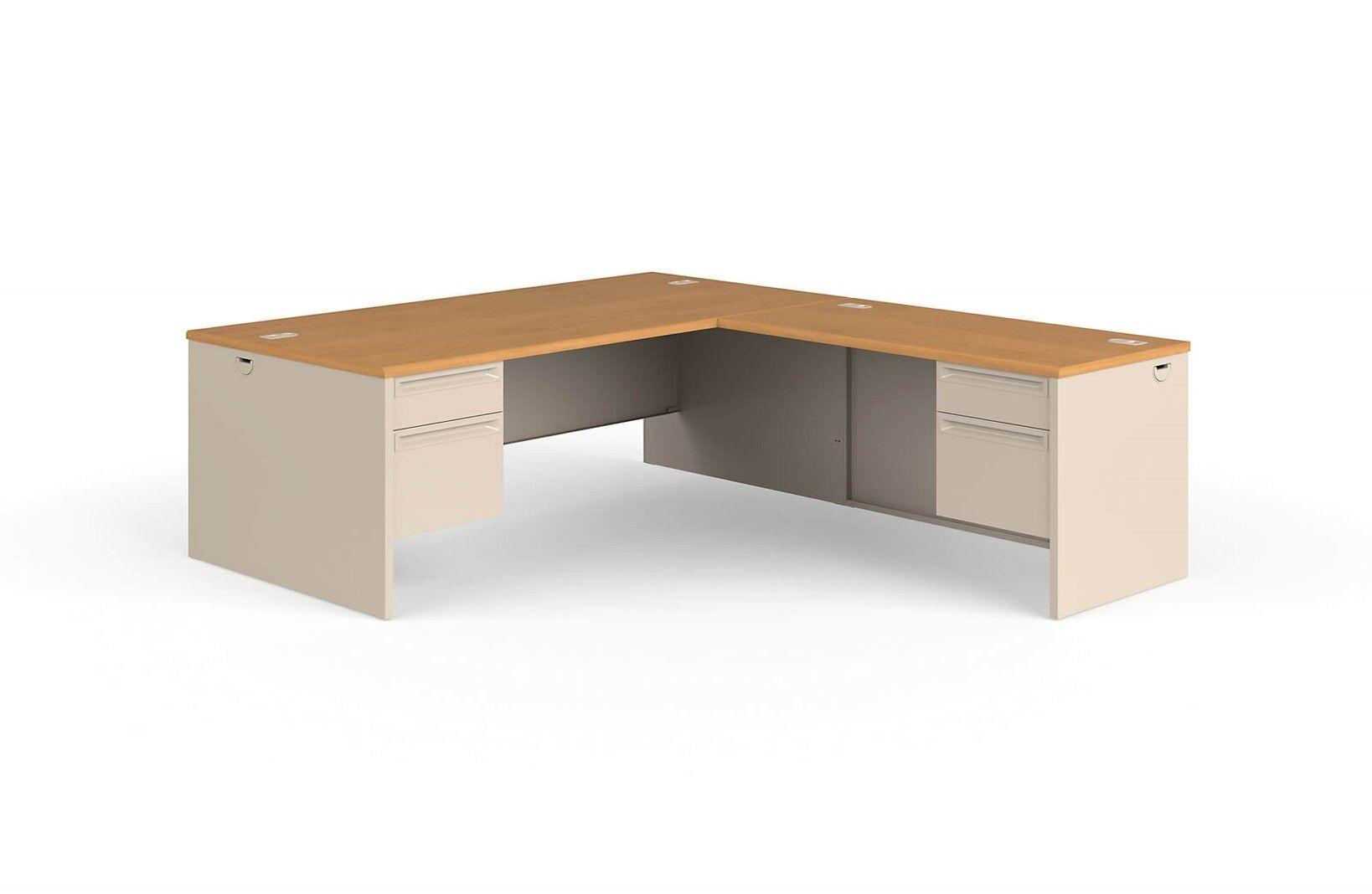 Large L Shaped Desk Nelson Lefthand Corner L Shaped Desk 72 W X 84 D