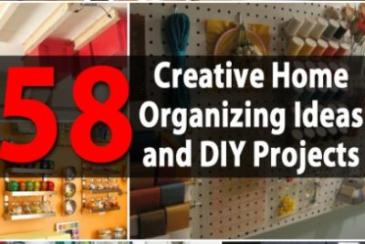 Top 58 Most Creative Small Home Office-Organizing Ideas and DIY Projects