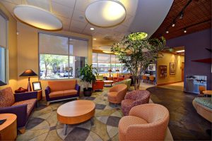 Comfortable waiting room chairs by Cubicles Plus Office Furnishings