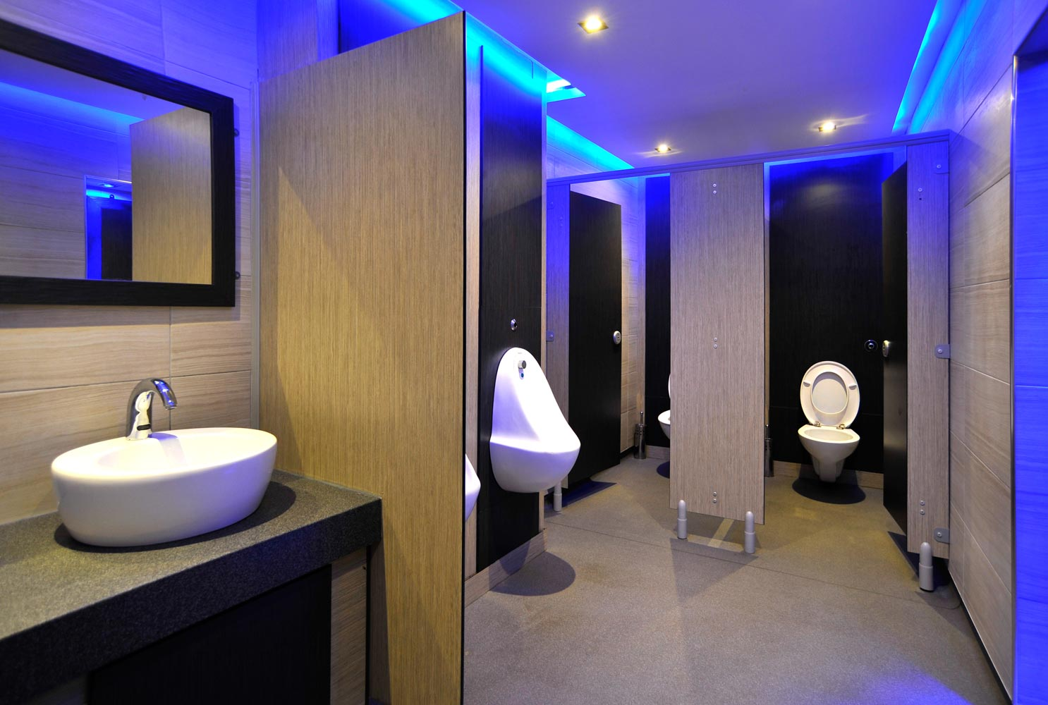 Toilet Building Construction Cubicle Systems