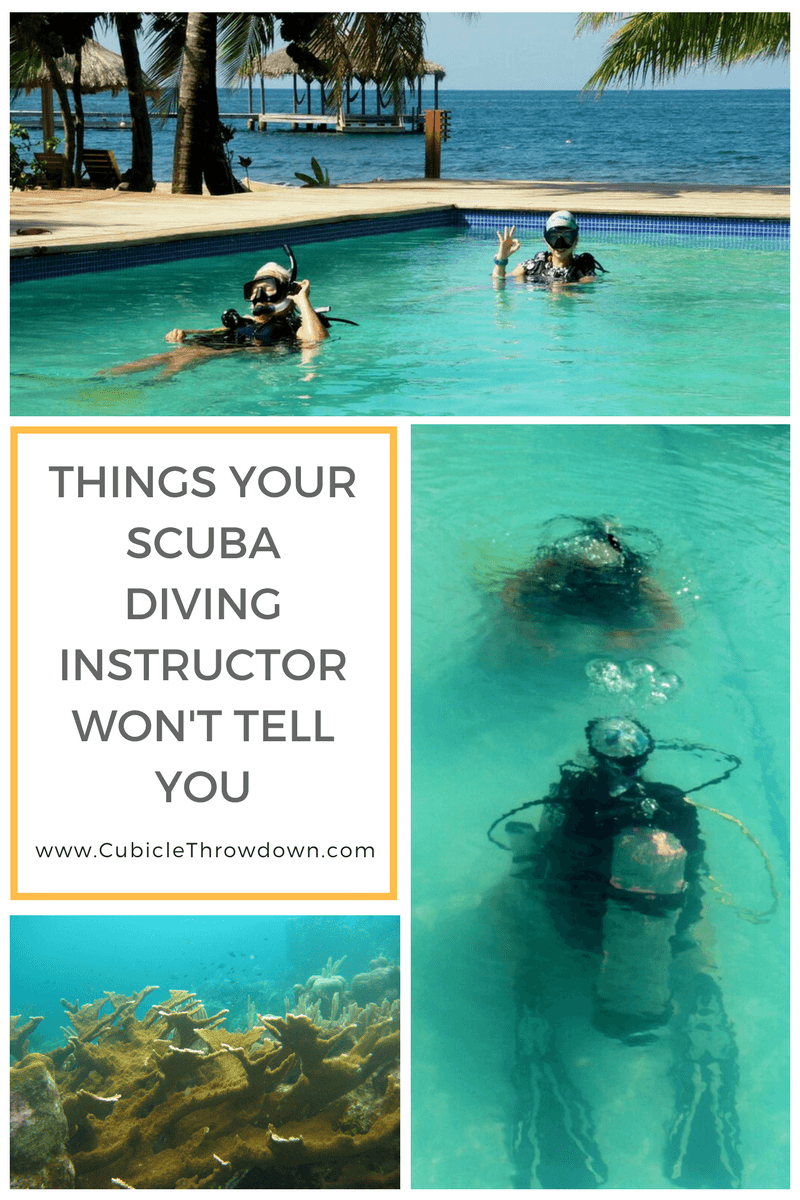 Things Your Scuba Diving Instructor Will Never Tell You
