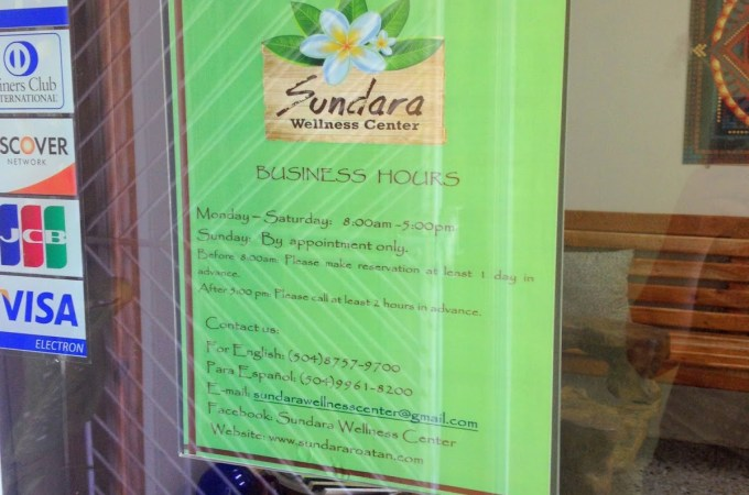 Roatan Review: Sundara Wellness Center