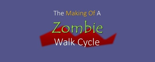 2D Animation: Creating A Zombie Walk Cycle