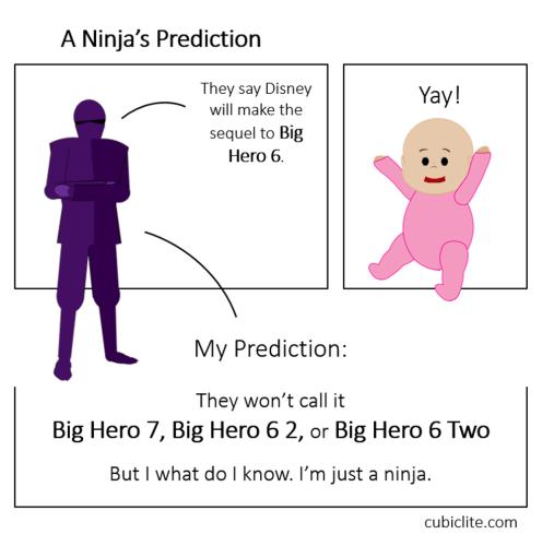 Comic 001 - Ninja's Prediction