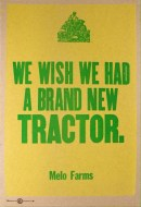 We wish we had a brand new tractor 2015