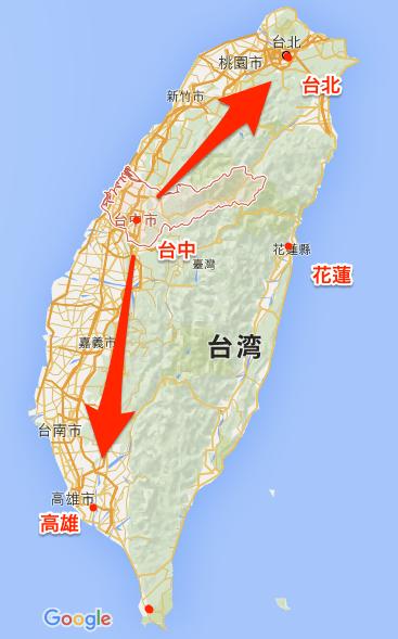 台湾_台中_-_Google_マップ
