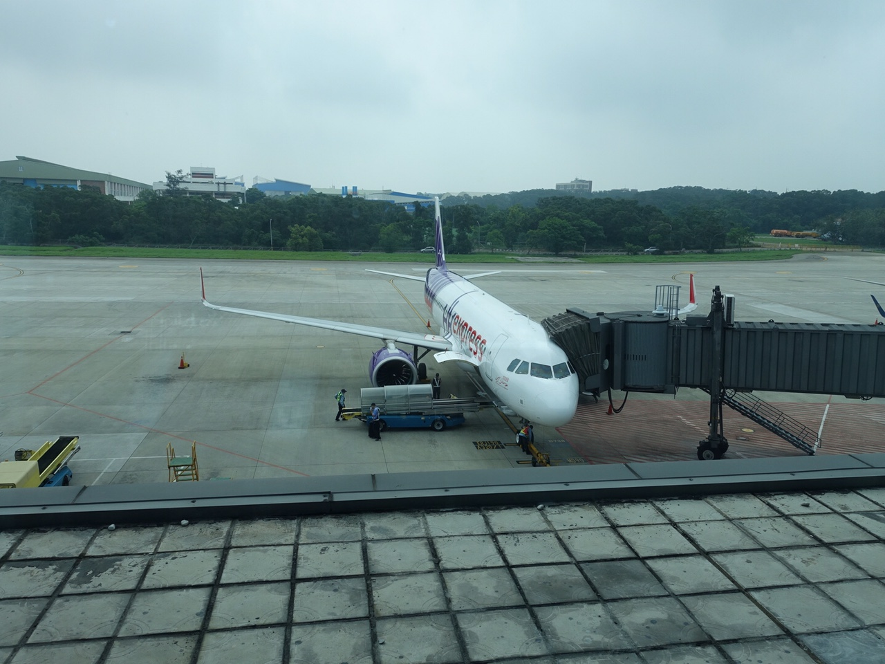 台中市内から台中空港へバスを利用しての行き方について