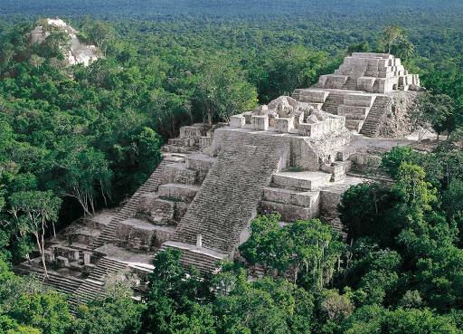 Calakmul atractivos arqueologicos de México
