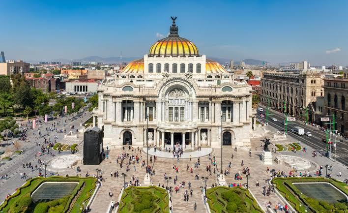 palacio de bellas artes atractivo turistico del estado de Mexico