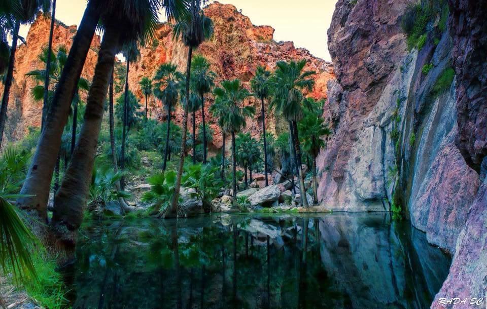Cañón Nacapule sitio turistico de Sonora