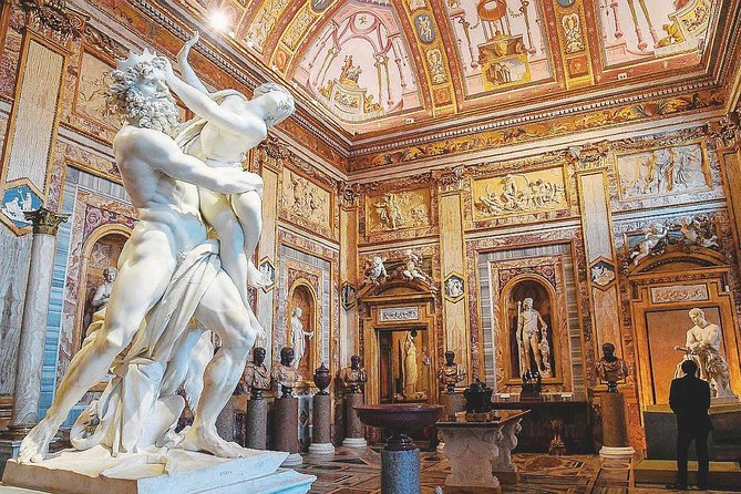 Galería Borghese atractivo cultural roma italia