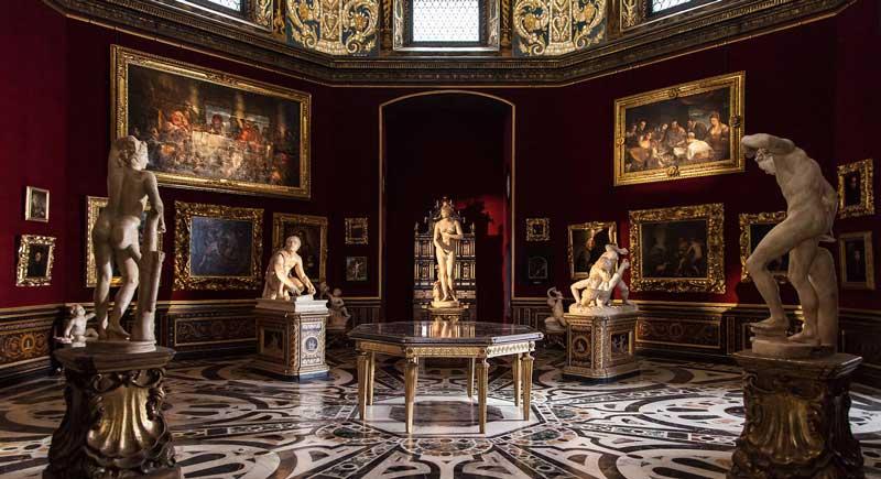 Museo de los Uffizi atractivo cultural italia