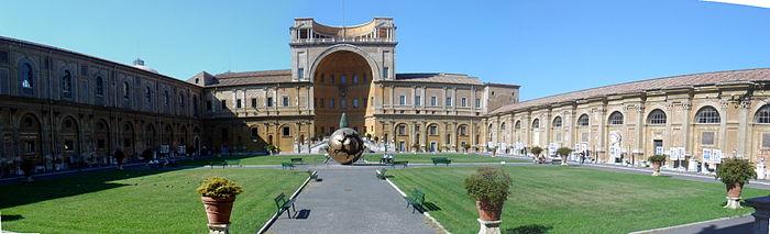 Museo del Vaticano sitio turistico de Italia