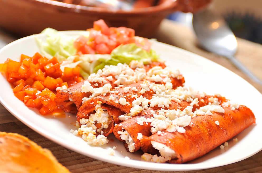 Enchiladas de aguascalientes